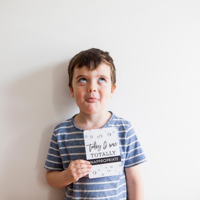 Toddler Milestone Cards - Seriously Milestones